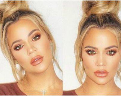 Khloe Kardashian anunció en redes sociales la muerte de su perrita Gabbana. (Foto Prensa Libre: Instagram)