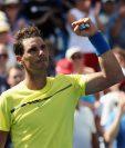 La perseverancia y entrega de Rafael Nadal lo llevo de nuevo a liderar el ránquin de la ATP. (Foto Prensa Libre: AFP)