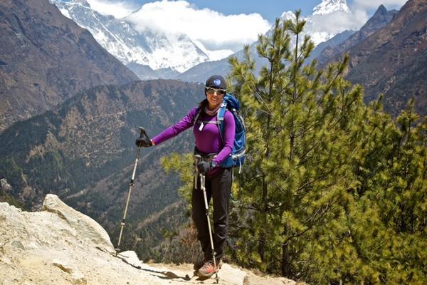 """Andrea Cardona ya se prepara en Nepal. (Foto Prensa Libre: Cortesía Andrea Cardona)<br _mce_bogus=""""1""""/>"""