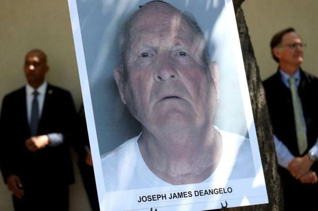 """Joseph James DeAngelo fue identificado como el llamado """"asesino del Golden State"""" a través del ADN hereditario. (GETTY IMAGES)"""