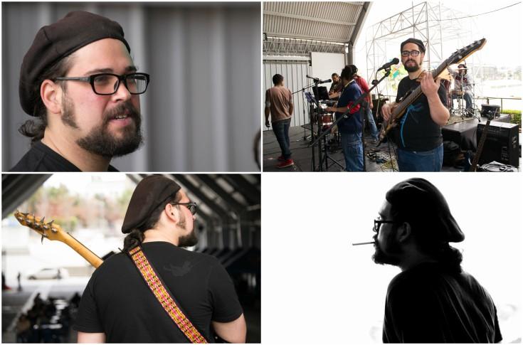 Solidaridad en clave de solfa para el artista Andrés Donate