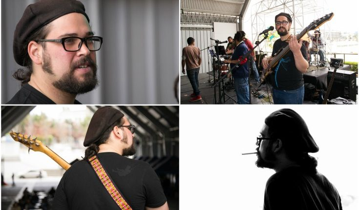 El músico Andrés Donate el pasado 25 de noviembre sufrió un accidente al viajar en motocicleta. (Foto Prensa Libre: Jaime Carrillo)