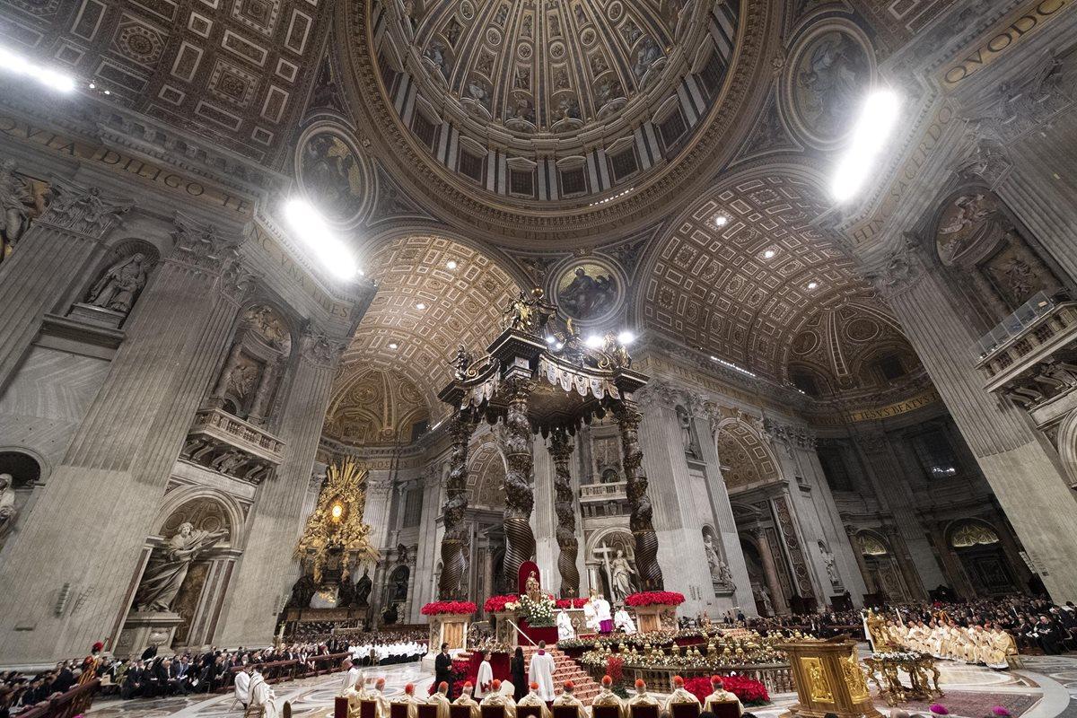 El papa Francisco también abogó por los refugiados sirios. Ç(Foto Prensa Libre: EFE)