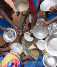 El hambre en las zonas rurales de África, Asia o Latinoamérica impacta en otras partes del mundo, como ocurre con la migración. (Foto Prensa Libre: Agencia EFE)