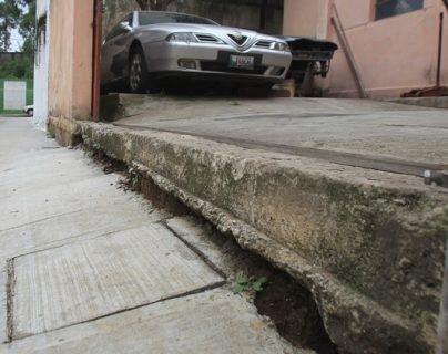 La situación en que vive el mecánico invidente, contradice las normas del país, que exige al Estado velar por las condiciones de las personas con capacidades diferentes. (Foto Prensa Libre: Esbin García)