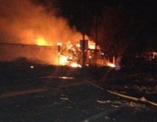 Cinco migrantes resultan heridos en una explosión de gas. (Foto Prensa Libre: AP)
