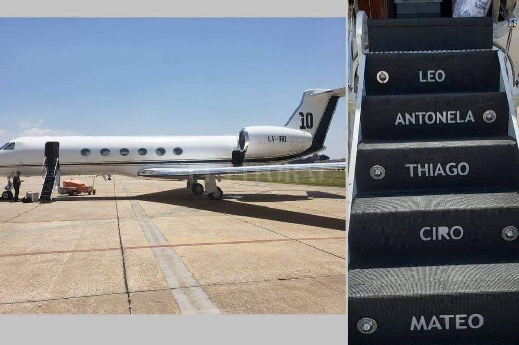 Lio Messi compró lujoso avión privado. (Foto Prensa Libre: Redes)
