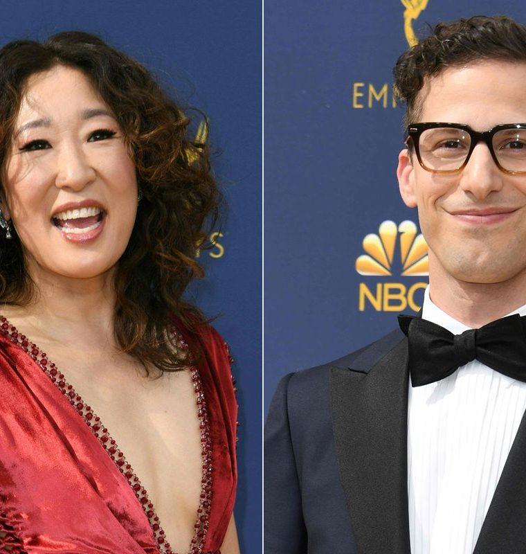 Sandra Oh y Andy Samberg serán los anfitriones en la ceremonia que se celebrará el próximo 6 de enero. (Foto Prensa Libre: AFP)