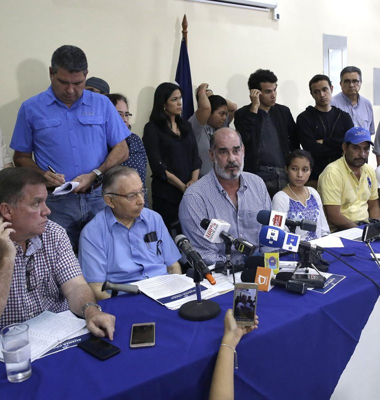 Alianza Cívica de Nicaragua aplaude informe de CIDH y apoyo internacional. (EFE).