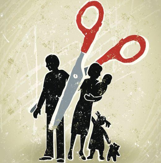 La ausencia paterna puede llegar a tener un efecto muy dramático en la dinámica familiar. GETTY IMAGES