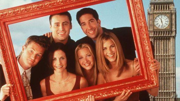 La serie de TV 'Friends' se grabó entre 1994 y 2004. GETTY IMAGES