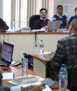Benedicto Lucas García presentó su declaración en el juicio por la desaparición del menor Marco Antonio Molina Theissen. (Foto Prensa Libre: Paulo Raquec)
