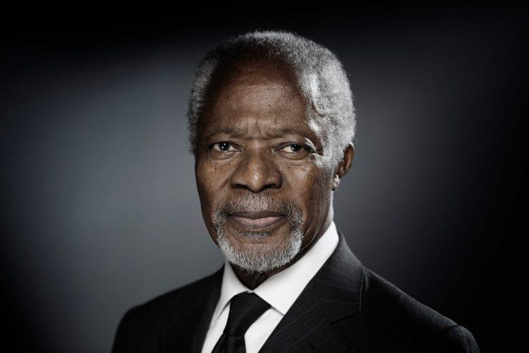 Kofi Atta Annan fue el séptimo secretario general de las Naciones Unidas, cargo que ocupó entre 1997 y 2006.