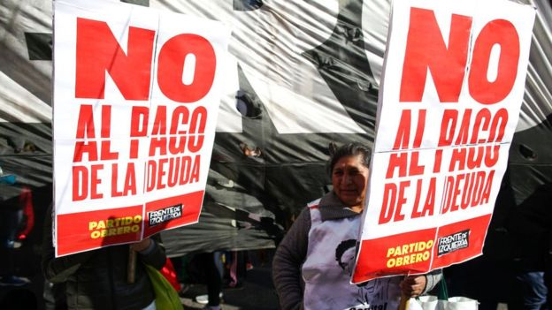 Han comenzado las primeras manifestaciones en Buenos Aires contra el G20. GETTY IMAGES