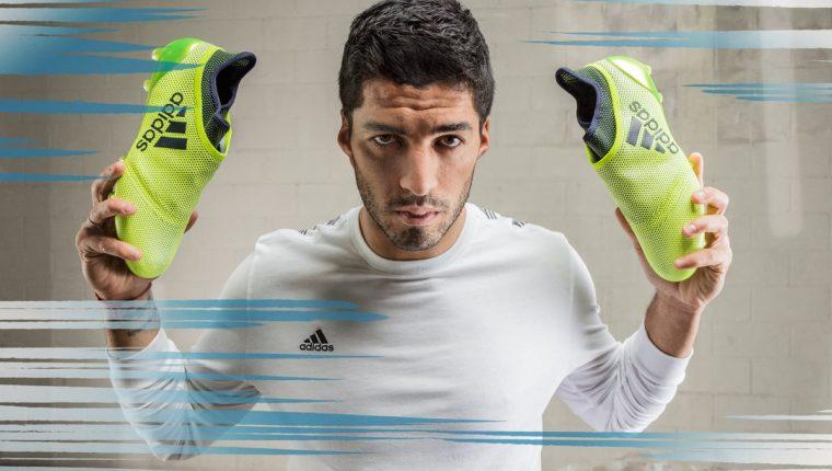 reputable site e21c5 df1d0 Luis Suárez usará los nuevos zapatos con la tecnología de Adidas. (Foto  Prensa Libre