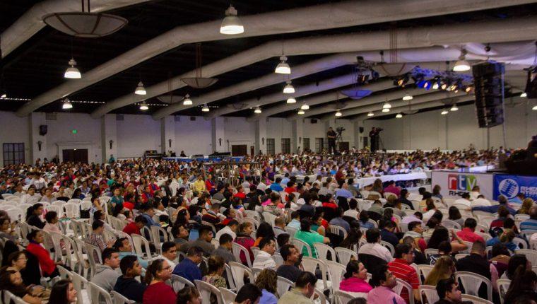Unas 20 mil personas asistirán a las actividades de Ministerios Ebenezer en el Parque de la Industria. (Foto Prensa Libre: Cortesía).