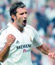 Luis Figo encabeza el equipo de las Leyendas del Real Madrid. (Foto Prensa Libre: Hemeroteca PL)