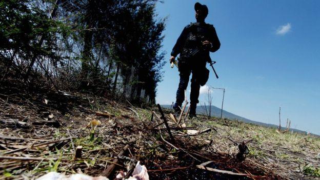En 2017 se cometieron 29 mil 168 homicidios violentos en México. GETTY IMAGES