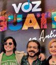 Álvaro Aguilar, Tavo Bárcenas, Lenín Fernández, Magda Angélica y Sara Curruchich participarán en este concierto. (Foto Prensa Libre: Ana Lucía Ola).
