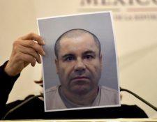 """Joaquín """"El Chapo"""" Guzmán fue extraditado a Estados Unidos en enero de este año. AFP"""