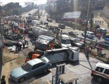 Autoridades rehuyen a la responsabilidad de controlar el tramo donde ocurrió la tragedia. (Foto Prensa Libre: Hemeroteca PL)