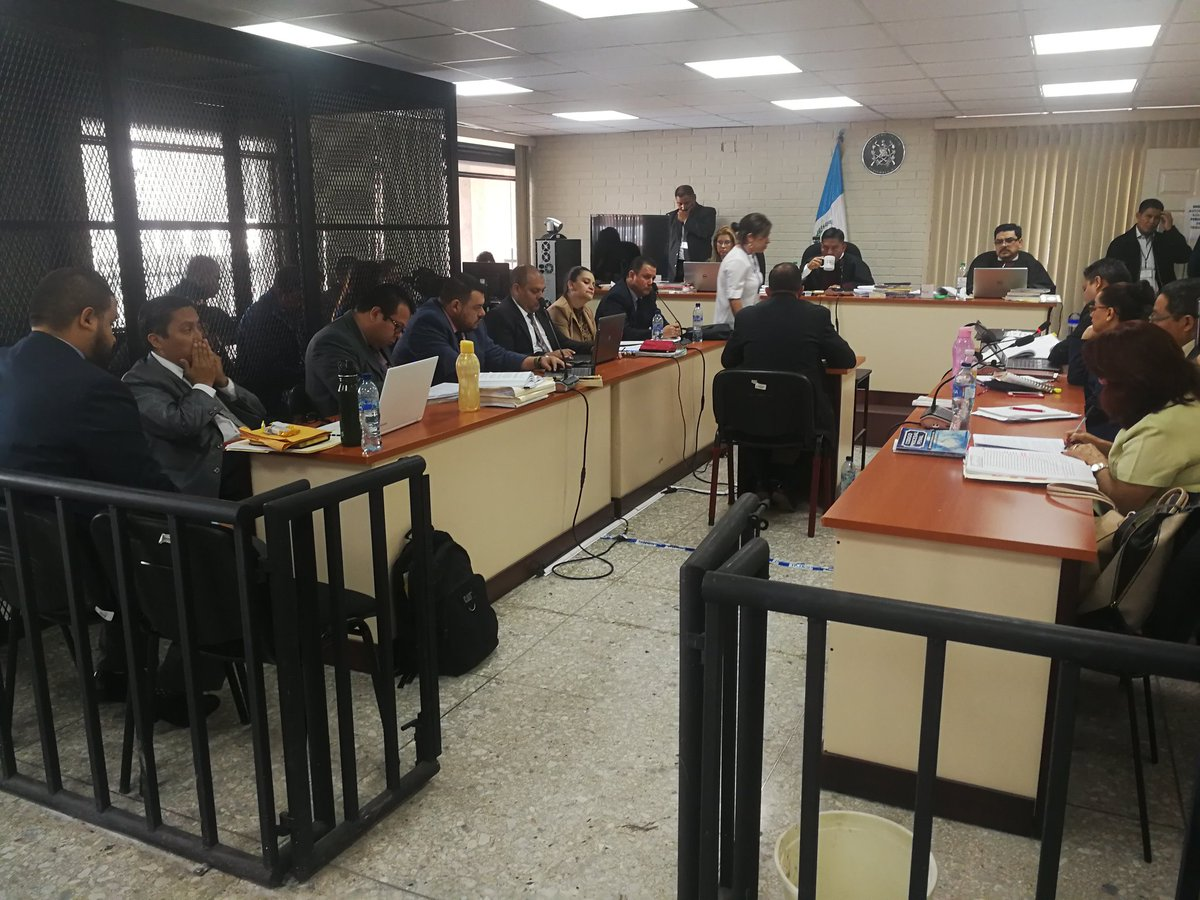 El detective uruguayo Corleano Marcelo Umperrez declaró como testigo. (Foto Prensa Libre Kenneth Monzón)