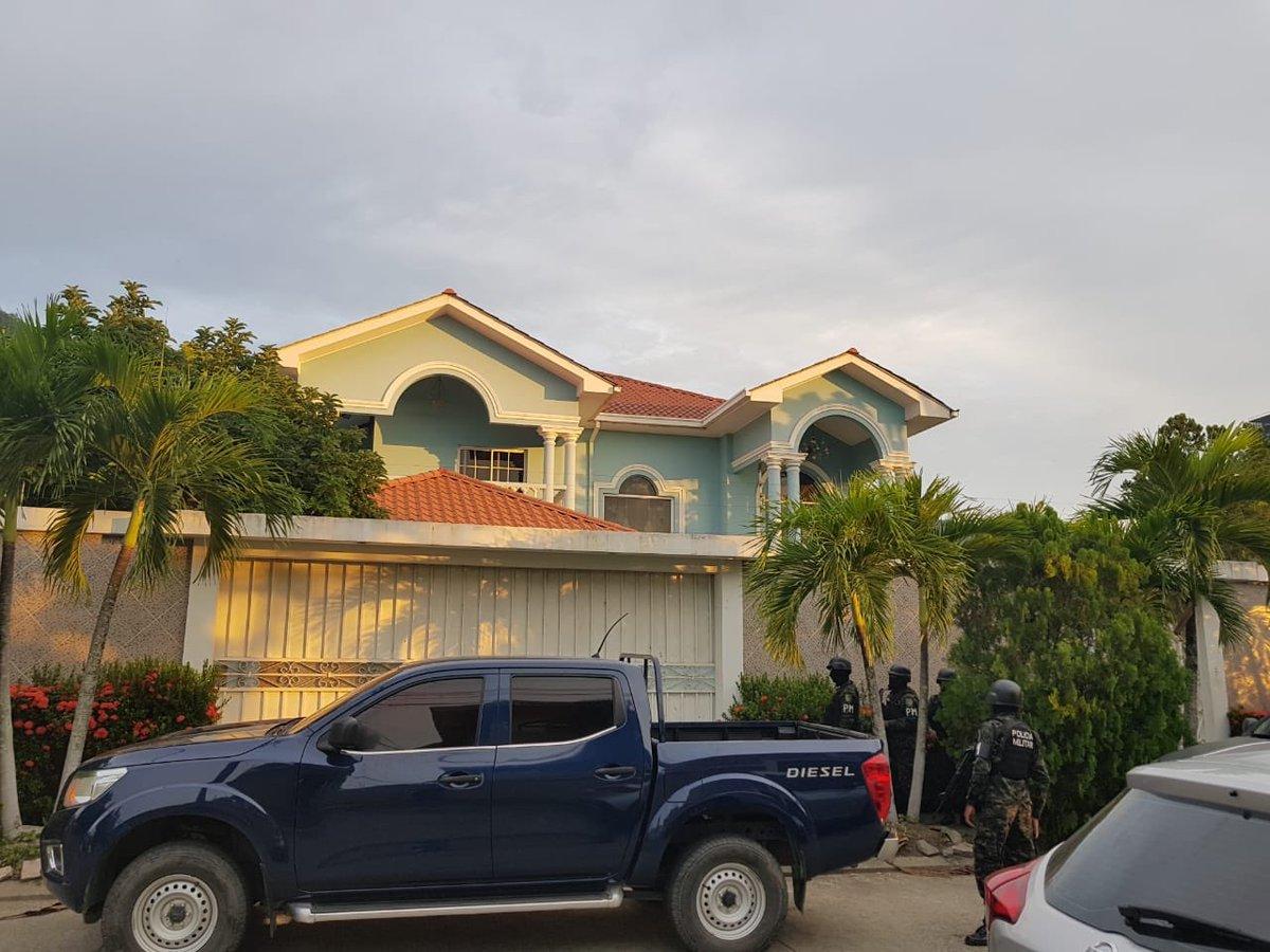 Inmueble decomisado a la estructura a la que supuestamente pertenece el guatemalteco Mario Girón. (Foto Prensa Libre: MP Honduras)