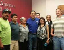 Jimmy Morales recibió apoyo de migrantes en 2015, pero el partido FCN no reportó el dinero donado.