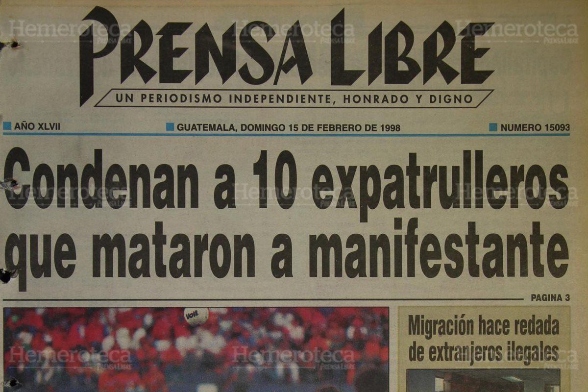 1998: ex pac sentenciados por muerte de activista