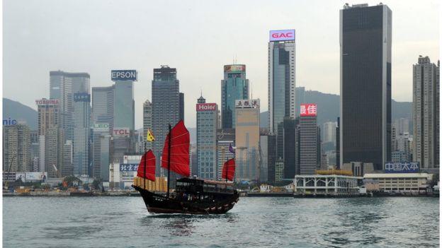 El ejemplo de Hong Kong ha sido ofrecido para explicar la lógica de las ZEDE. AFP