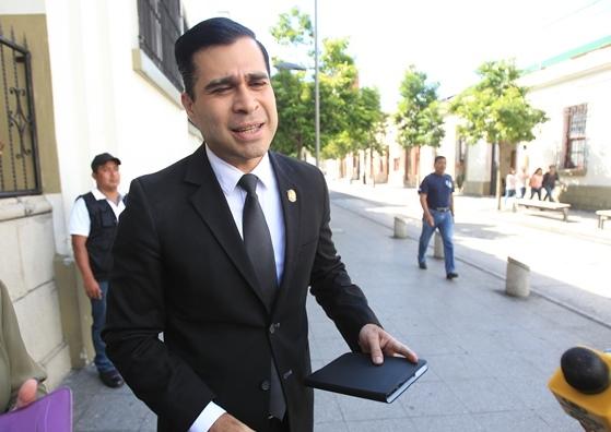 El alcalde de Mixco, Neto Bran, pierde su derecho a antejuicio. (Foto Prensa Libre: Hemeroteca PL)