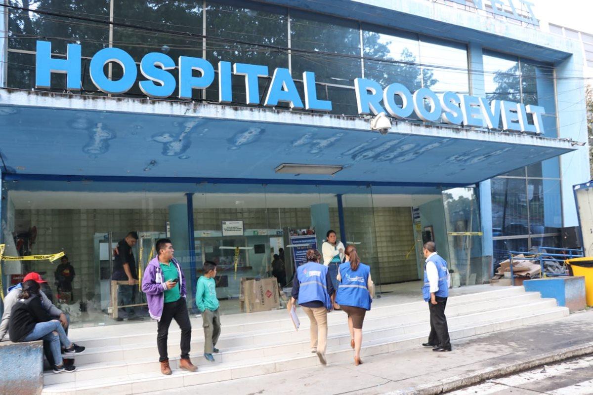 Hospital Roosevelt reprograma citas médicas hasta febrero