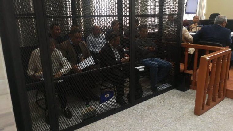 La apertura a debate continuó con la reproducción de escuchas telefónicas. (Foto Prensa Libre: Kenneth Monzón)