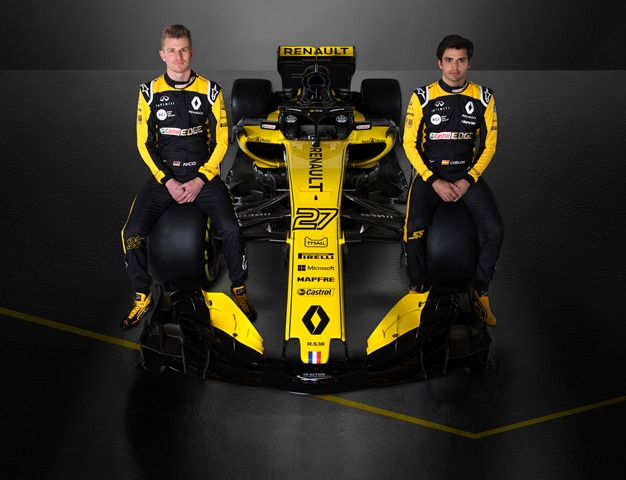 Renault Sport Formula One Team presentó su monoplaza 2018