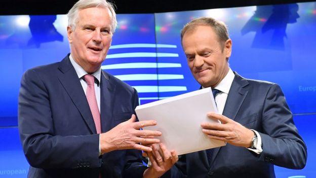 La UE pensaba haber concluido las negociaciones sobre la salida británica en noviembre. AFP