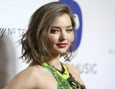 Asaltan casa de la supermodelo Miranda Kerr, en Los Ángeles. (Foto Prensa Libre: AFP)