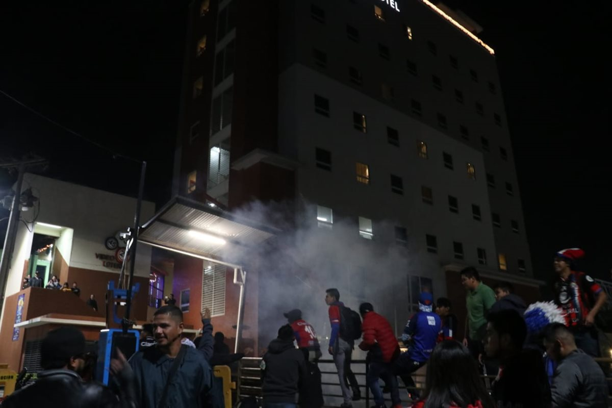 Este es el hotel de concentración de los albos para su visita de este domingo a Xela. (Foto Prensa Libre: Raúl Juárez)