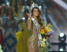 La francesa Iris Mittenaere se coronó recientemente como Miss Universo 2017. (Foto Prensa Libre: AFP).