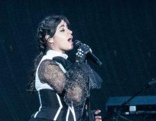 La cantante Camila Cabello lidera las nominaciones de los MTV Europe Music Awards 2018. (Foto Prensa Libre: AFP)