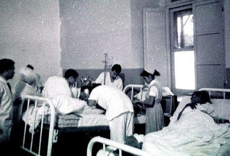 Médicos, durante los experimentos. (Foto: Cirma)