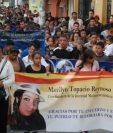 Topacio Reynoso, hija de Alex Reynoso, fue ultimada a balazos en abril de 2014. (Foto Prensa Libre: Hemeroteca PL)
