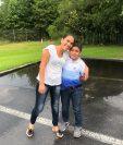 La guatemalteca Otilia Asig-Putul se reúne con su hijo Geremy luego de 45 días de separación. (Foto Prensa Libre: Nexus Derechos Humanos/EFE)