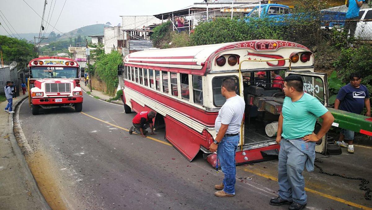 Deben ser renovados, pero no hay certeza de cuántos buses extraurbanos deben salir de circulación