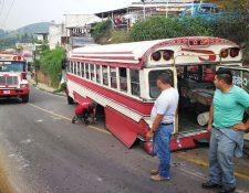 Por seguridad de los usuarios, los autobuses de modelos de más de 25 años deben ser reemplazados. (Foto Prensa Libre: Hemeroteca PL)