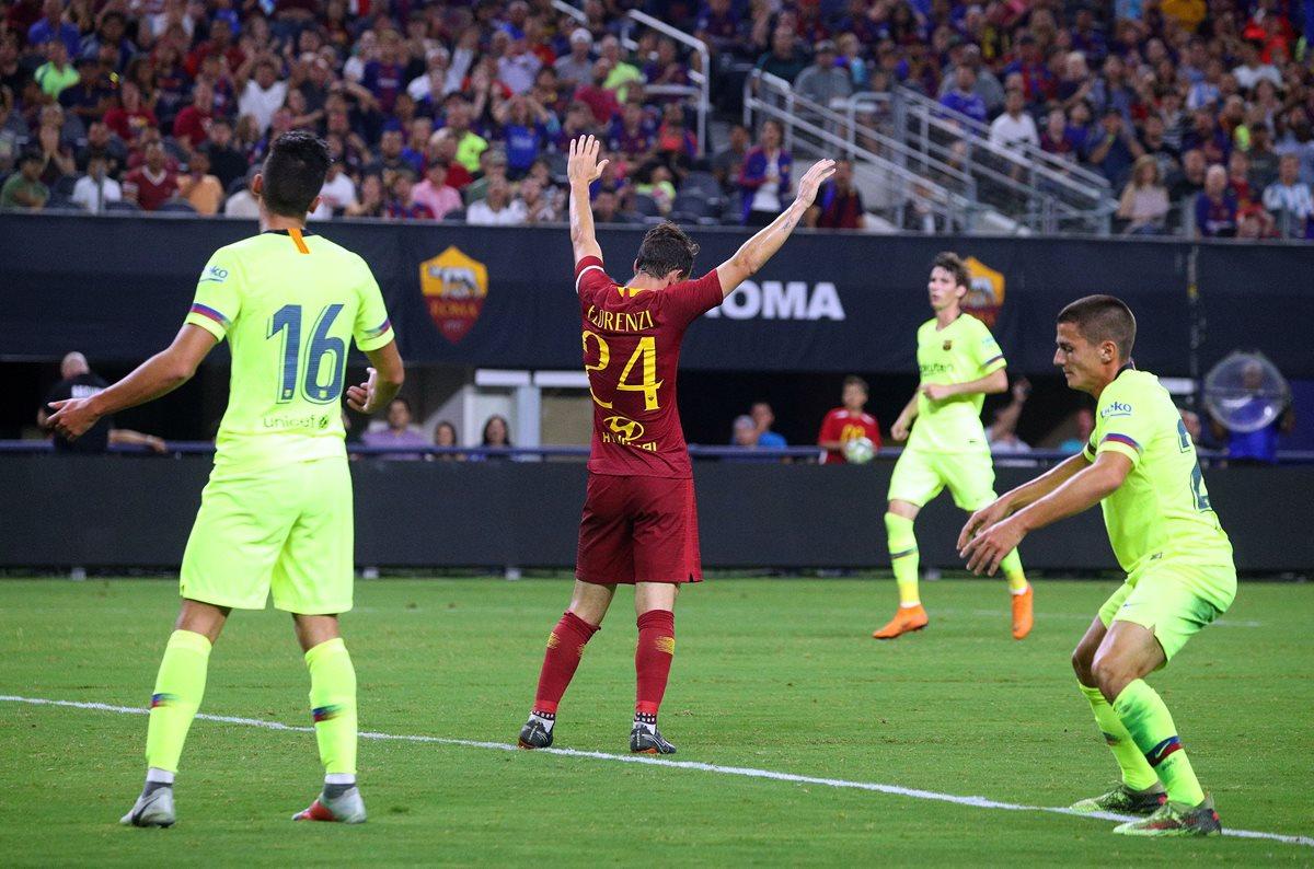 El Barcelona pierde contra la Roma en la International Champions Cup