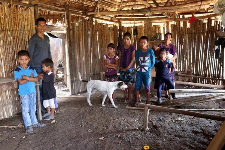 Las familias del área rural padecen de pobreza. (Foto Prensa Libre:Hemeroteca PL)