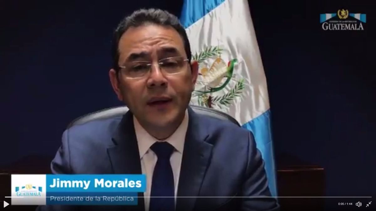 Jimmy Morales decidió expulsar al jefe de la Cicig, en medio de un proceso de antejuicio en su contra. (Foto Prensa Libre: Hemeroteca PL)