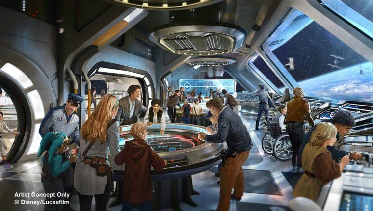 El parque y hotel de Star Wars espera continuar con el éxito de la franquicia (Foto Prensa Libre: EFE).