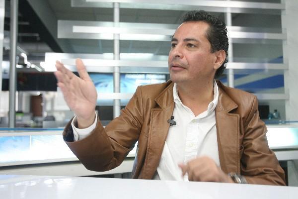 Haroldo Herrera, motivador, durante El Consultorio.
