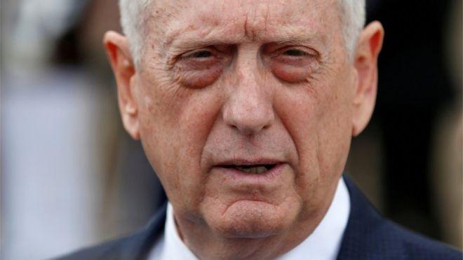 El secretario de Defensa de Estados Unidos Jim Mattis presentó su renuncia y dejará el cargo en febrero de 2019. REUTERS